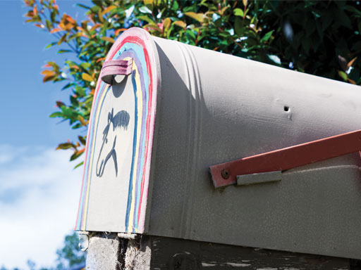 White house letterbox